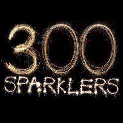 300 Golden Sparklers