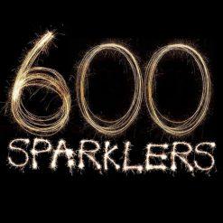 600 Golden Sparklers